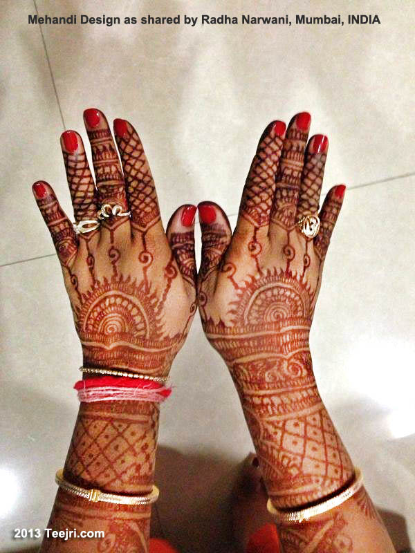 Mehandi Design Radha Narwani Mumbai India_WM